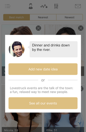 LoveStruck Dating Application
