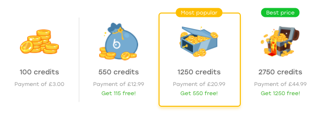 Badoo Buying Credits